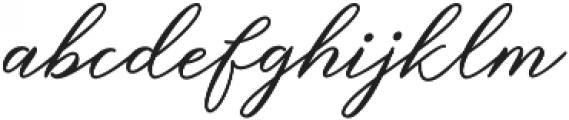 Steakfull Script Regular otf (400) Font LOWERCASE