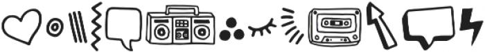 Steamed Hams Doodles otf (400) Font UPPERCASE