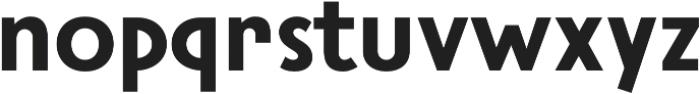 Steamer Bold otf (700) Font LOWERCASE