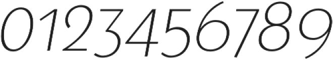 Steamer Light Italic otf (300) Font OTHER CHARS