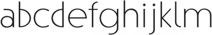 Steamer Light otf (300) Font LOWERCASE
