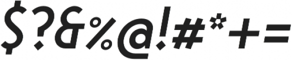 Steamer Medium Italic otf (500) Font OTHER CHARS