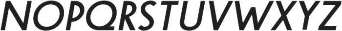 Steamer Medium Italic otf (500) Font UPPERCASE
