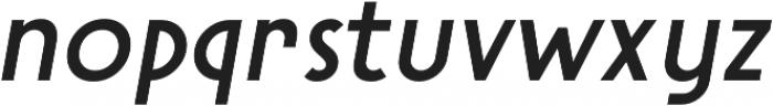 Steamer Medium Italic otf (500) Font LOWERCASE