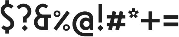 Steamer Medium otf (500) Font OTHER CHARS