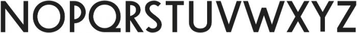 Steamer Medium otf (500) Font UPPERCASE