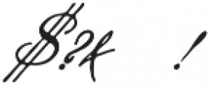 Steelplate Script ttf (400) Font OTHER CHARS