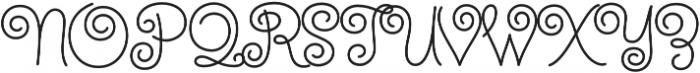 Steinweiss Script Medium Regular otf (500) Font UPPERCASE