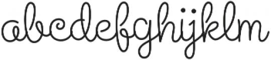 Steinweiss Script Medium Regular otf (500) Font LOWERCASE