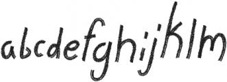 Stella Grace Brush otf (400) Font LOWERCASE