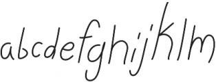 Stella Grace Light otf (300) Font LOWERCASE
