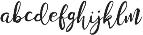 Stella Wilson Script otf (400) Font LOWERCASE
