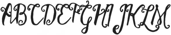 Stellanova otf (400) Font UPPERCASE