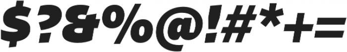 Stena Black Italic otf (900) Font OTHER CHARS
