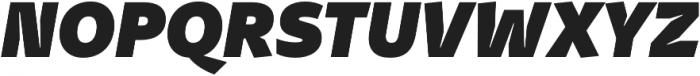 Stena Black Italic otf (900) Font UPPERCASE