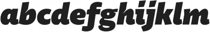 Stena Black Italic otf (900) Font LOWERCASE