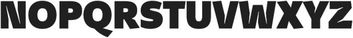 Stena Black otf (900) Font UPPERCASE