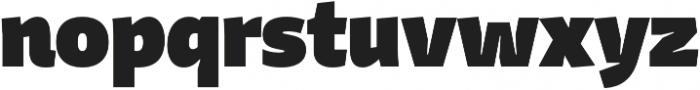 Stena Black otf (900) Font LOWERCASE