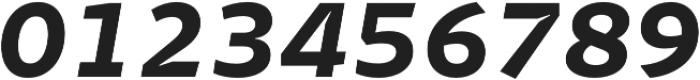 Stena Bold Italic otf (700) Font OTHER CHARS