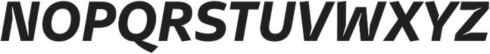 Stena Bold Italic otf (700) Font UPPERCASE
