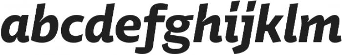 Stena Bold Italic otf (700) Font LOWERCASE