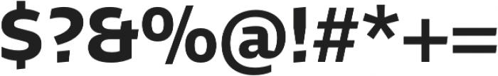 Stena Bold otf (700) Font OTHER CHARS