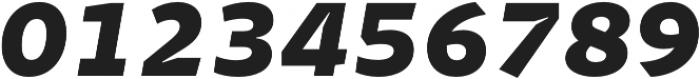 Stena ExtraBold Italic otf (700) Font OTHER CHARS