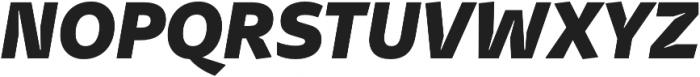 Stena ExtraBold Italic otf (700) Font UPPERCASE