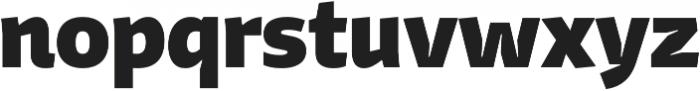 Stena ExtraBold otf (700) Font LOWERCASE