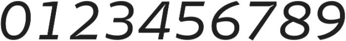 Stena Italic otf (400) Font OTHER CHARS