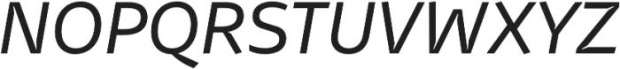 Stena Italic otf (400) Font UPPERCASE