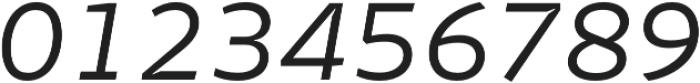 Stena Light Italic otf (300) Font OTHER CHARS