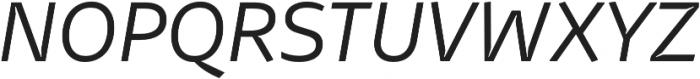 Stena Light Italic otf (300) Font UPPERCASE