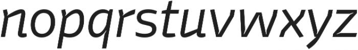 Stena Light Italic otf (300) Font LOWERCASE