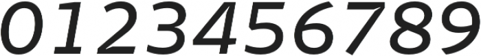 Stena Medium Italic otf (500) Font OTHER CHARS