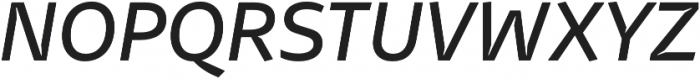 Stena Medium Italic otf (500) Font UPPERCASE