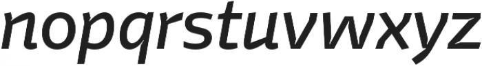 Stena Medium Italic otf (500) Font LOWERCASE