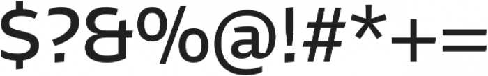 Stena Medium otf (500) Font OTHER CHARS