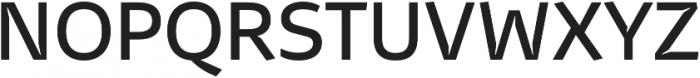 Stena Medium otf (500) Font UPPERCASE