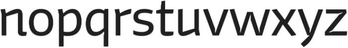 Stena Regular otf (400) Font LOWERCASE