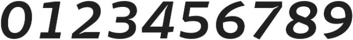 Stena SemiBold Italic otf (600) Font OTHER CHARS