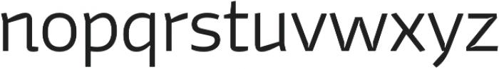 Stena Thin otf (100) Font LOWERCASE