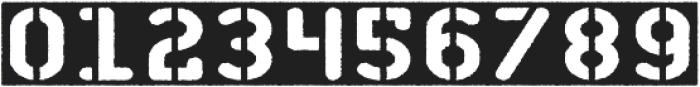Stencil of Destiny otf (400) Font OTHER CHARS