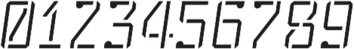 Stenciliqo 4F otf (400) Font OTHER CHARS