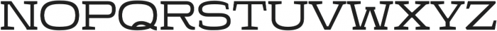 Stendo 400 Regular otf (400) Font UPPERCASE