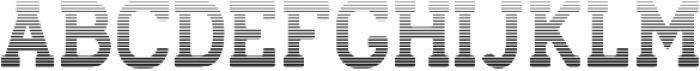 Stengkol 12 otf (400) Font UPPERCASE