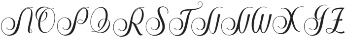 Stephen Regular otf (400) Font UPPERCASE