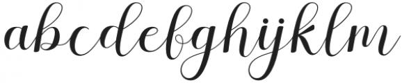 Stephen Regular otf (400) Font LOWERCASE