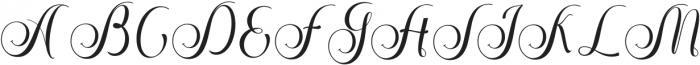 Stephen Regular ttf (400) Font UPPERCASE
