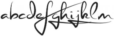 Stephen Type otf (400) Font LOWERCASE